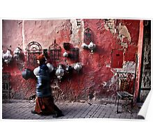 Marrakech The Red Poster