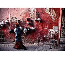 Marrakech The Red Photographic Print
