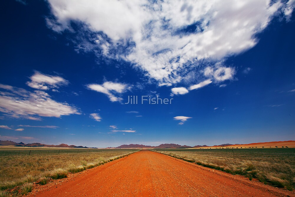 On the Road by Jill Fisher