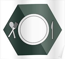 Fill my plate Poster
