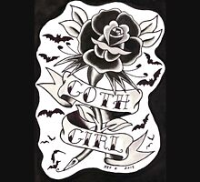 Goth Girl Rose Unisex T-Shirt