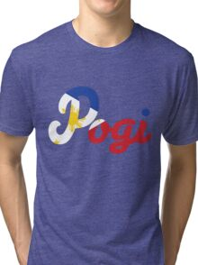Filipino Flag Pogi Tri-blend T-Shirt