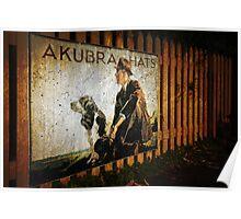 Akubra Hats Poster