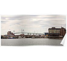 The Claiborn Pell Bridge Newport RI  Poster