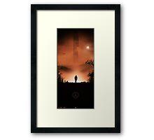 Half-Life Framed Print