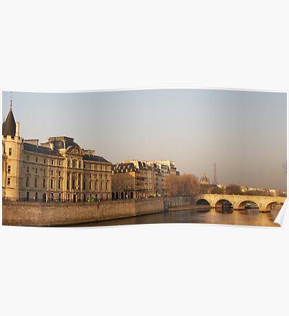 Paris Morning II Poster