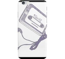 Cassette Tape iPhone Case/Skin