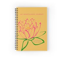 7 DAY'S OF SUMMER-YOGA ZEN RANGE-MINDFULNESS ORANGE Spiral Notebook