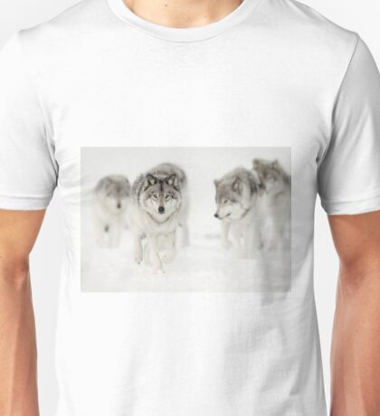 Timber Wolf Pack Unisex T-Shirt