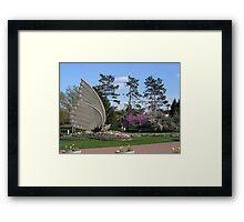 The Sophia M. Sachs Butterfly House Framed Print