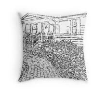 Alma's House Throw Pillow