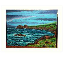 sea scape Art Print