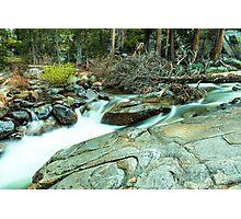 Mountain Stream Yosemite National Park Photographic Print
