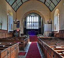 St Peter's Church, Ashburnham - Nave by Dave Godden