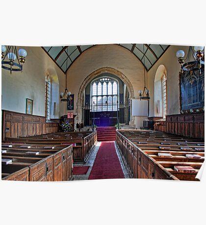 St Peter's Church, Ashburnham - Nave Poster
