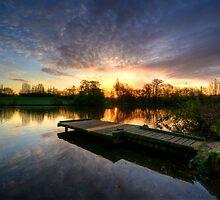 Jetty Sunrise 2.0 by Yhun Suarez