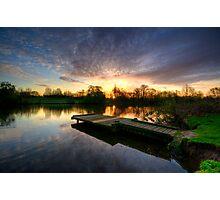 Jetty Sunrise 2.0 Photographic Print