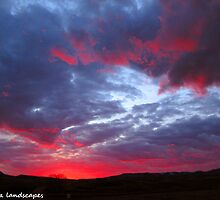 A North Dakota evening by Erika Price