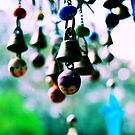colorful bells by Jamie McCall