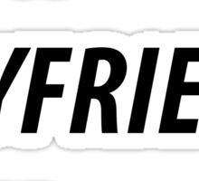 best boyfriend ever  Sticker