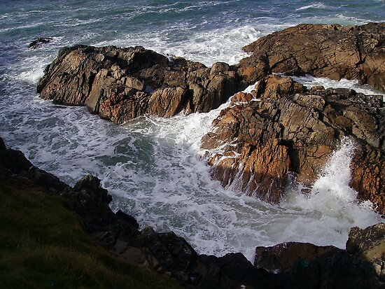 The Forces of Nature - Hebridean Seascape by BlueMoonRose