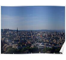 Edinburgh Skyline. Poster