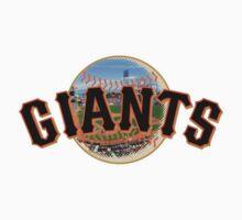 San Francisco Giants Stadium Logo Kids Clothes