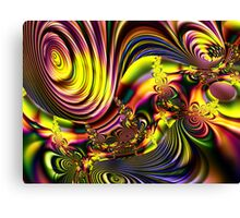 A Rave of Color Canvas Print