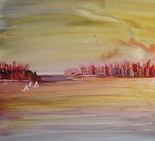Late Sail by bevmorgan