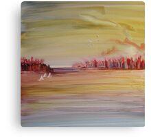 Late Sail Canvas Print