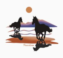 Freedom by saleire