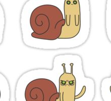Adventure Time Snail - Small Possessed Sticker Set Sticker