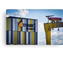 Titanic Series No12. Titanic Studio Canvas Print