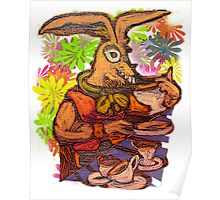 Mad March Hare Poster