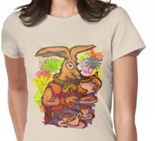 Mad March Hare Womens Fitted T-Shirt