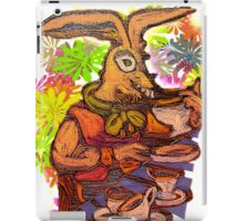Mad March Hare iPad Case/Skin