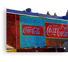 """Cheap Advertising"" Canvas Print"