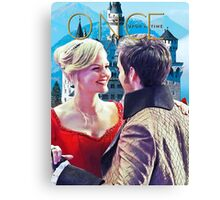 Captain Swan Fairy Tale Comic Poster 2 Canvas Print