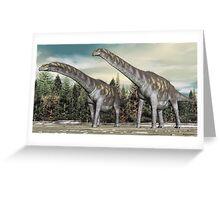 Argentinosaurus Greeting Card