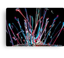 paint splat Canvas Print