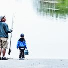 FISHING WITH DAD by Diane Peresie