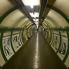 London, Old Tube Station  by James Taylor