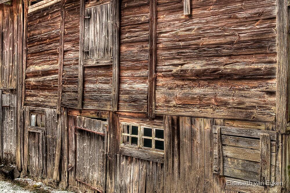 Rustic wall by Elisabeth van Eyken