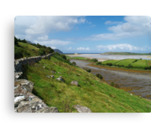 Bracky River Estuary Canvas Print