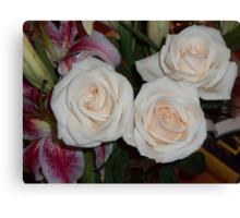...yesterday in the House are enjoying roses..piu' di 1200 visualizzaz ad oggi  dicembre 2012   VISUALIZZAZIONI  2012---RB EXPLORE 17 APRILE 2012 --- Canvas Print