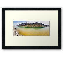 Lake Wolfgang Framed Print
