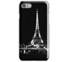 Eiffel Noir iPhone Case/Skin