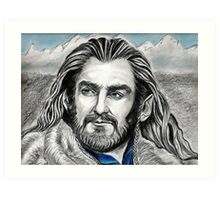 Richard Armitage, Thorin, King Under the Mountain Art Print