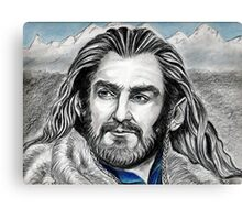Richard Armitage, Thorin, King Under the Mountain Canvas Print