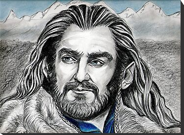 Richard Armitage, Thorin, King Under the Mountain by jos2507
